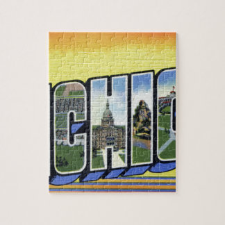 Greetings From Michigan Jigsaw Puzzle