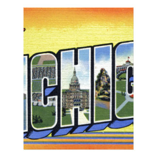 Greetings From Michigan Letterhead