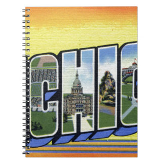 Greetings From Michigan Notebooks