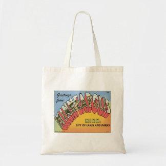 Greetings From Minneapolis Tote Bag