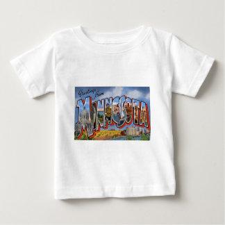 Greetings From Minnesota Baby T-Shirt