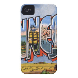 Greetings From Minnesota iPhone 4 Cases
