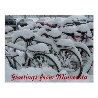 Greetings from Minnesota Postcard