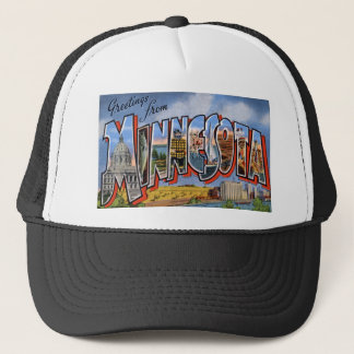 Greetings From Minnesota Trucker Hat