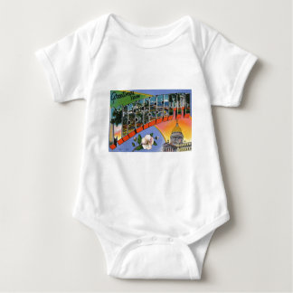 Greetings From Mississippi Baby Bodysuit