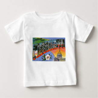 Greetings From Mississippi Baby T-Shirt