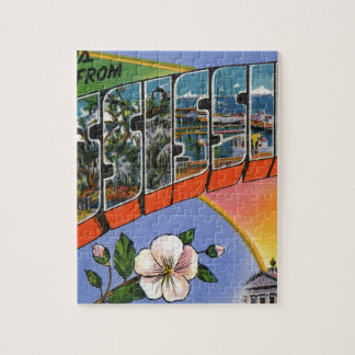 Greetings From Mississippi Jigsaw Puzzle