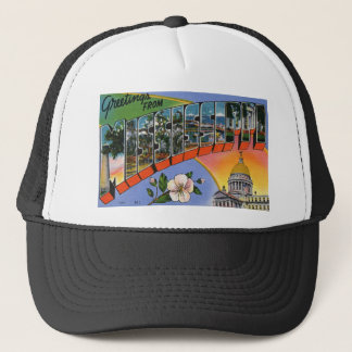 Greetings From Mississippi Trucker Hat