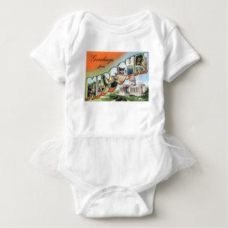 Greetings From Missouri Baby Bodysuit