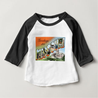 Greetings From Missouri Baby T-Shirt