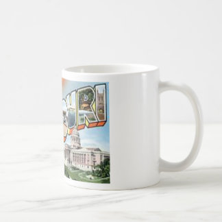 Greetings From Missouri Coffee Mug