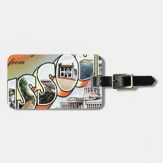 Greetings From Missouri Luggage Tag