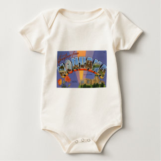 Greetings From Montana Baby Bodysuit