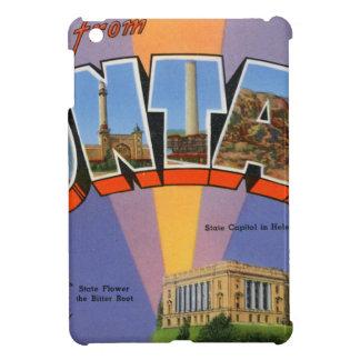 Greetings From Montana iPad Mini Cover