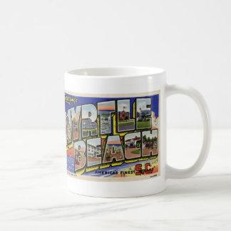 Greetings from Myrtle Beach Vintage Postcard Mug