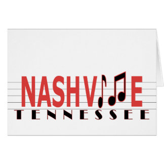 Greetings from Nashville Card