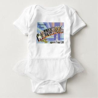Greetings From Nebraska Baby Bodysuit