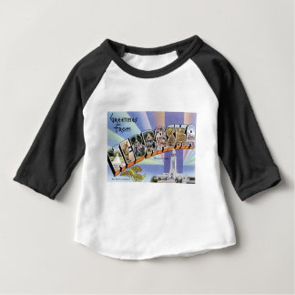 Greetings From Nebraska Baby T-Shirt