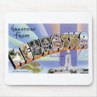 Greetings From Nebraska Mouse Pad