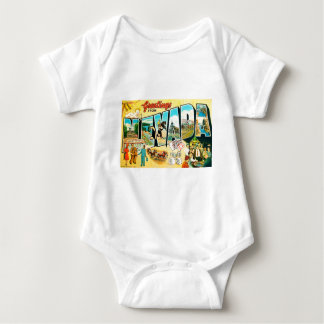 Greetings From Nevada Baby Bodysuit