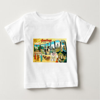 Greetings From Nevada Baby T-Shirt