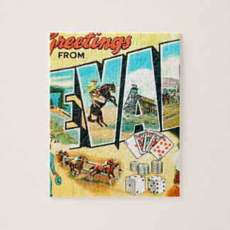 Greetings From Nevada Jigsaw Puzzle