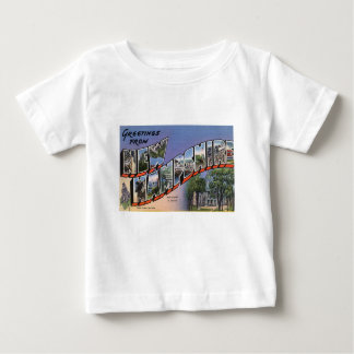 Greetings From New Hampshire Baby T-Shirt