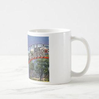 Greetings From New Hampshire Coffee Mug