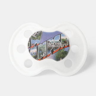 Greetings From New Hampshire Pacifier