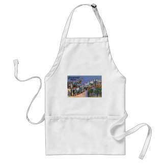 Greetings From New Hampshire Standard Apron