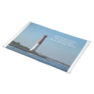 Greetings From New Jersey - Barnegat Light Placemat