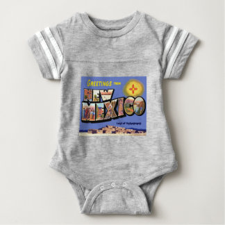 Greetings From New Mexico Baby Bodysuit