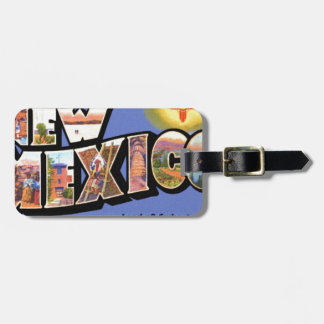 Greetings From New Mexico Luggage Tag