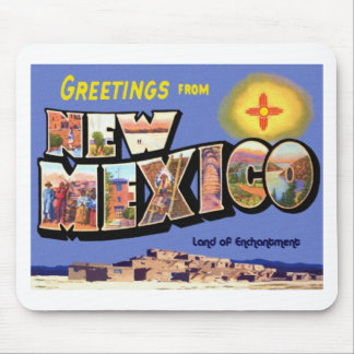 Greetings From New Mexico Mouse Pad