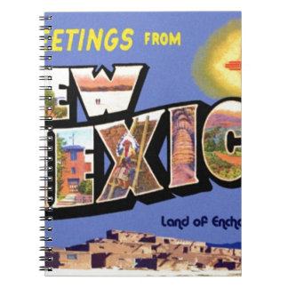 Greetings From New Mexico Notebooks