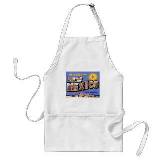 Greetings From New Mexico Standard Apron