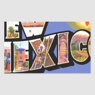 Greetings From New Mexico Sticker