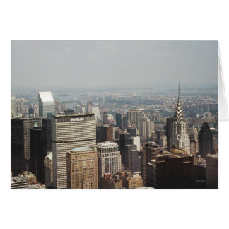 Greetings from New York, New York Greeting Card