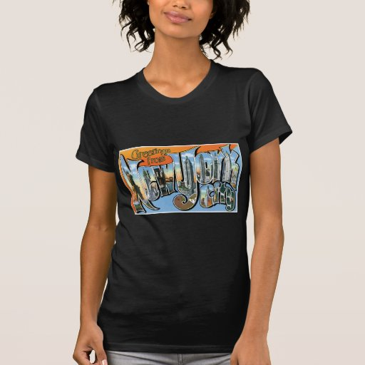 Greetings from New York, New York! T-shirt