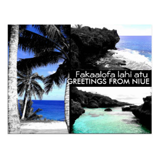 Greetings from Niue - Postcard
