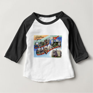 Greetings From North Carolina Baby T-Shirt