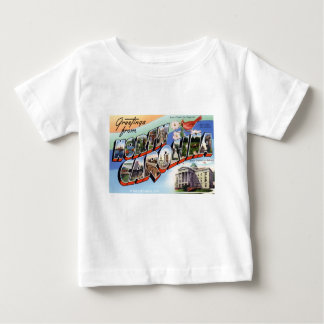 Greetings From North Carolina Baby T-Shirt