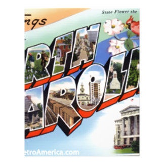 Greetings From North Carolina Letterhead