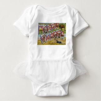 Greetings From North Dakota Baby Bodysuit