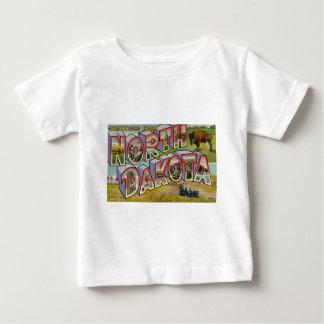 Greetings From North Dakota Baby T-Shirt