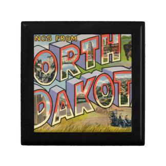 Greetings From North Dakota Gift Box