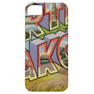 Greetings From North Dakota iPhone 5 Cover
