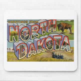 Greetings From North Dakota Mouse Pad
