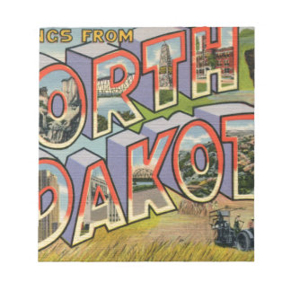 Greetings From North Dakota Notepad