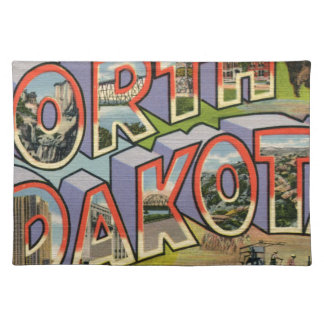 Greetings From North Dakota Placemat
